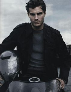Jamie Dornan looks so Fifty-like in this one dark and brooding I love it