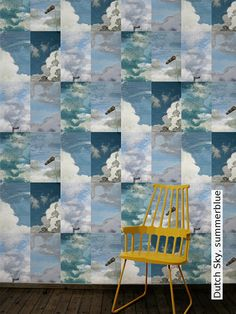 Tapete:+Dutch+Sky,+summerblue+-+TapetenAgentur