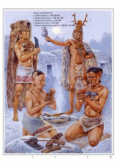 Native Americans of theSouth East 500 BC - 500 AD,