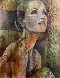 Painting by Carrie Vielle Woman Painting, Figure Painting, Painting & Drawing, Art And Illustration, Carrie, L'art Du Portrait, Figurative Kunst, Different Kinds Of Art, Face Art