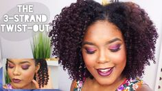 Have you tried the 3 Strand Twist-out? what are your thoughts? . . . @mini_marley is a pro at this! you go girl!