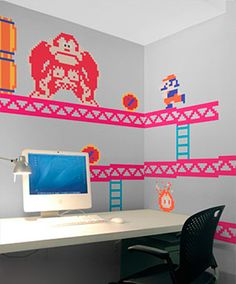 vinilos decorativos - Donkey Kong