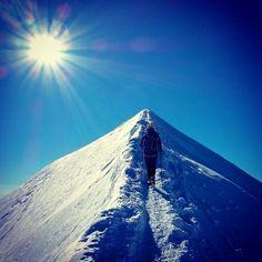 Mont Blanc via #arcteryx athlete @hagenstian #climbing #Padgram