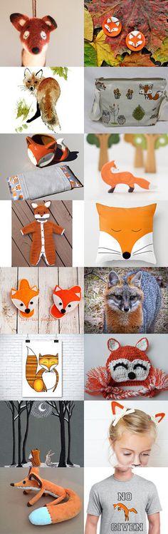 Feelin' Foxy by Margie on Etsy--Pinned+with+TreasuryPin.com