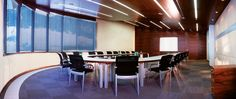 Boardroom with integrated rearprojection cabin. Conference Room, Cabin, Furniture, Home Decor, Decoration Home, Room Decor, Cabins, Home Furnishings, Cottage