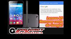 Remover conta do Google Lenovo Vibe K5 - Bypass Google Account 2016