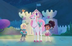 Nella the Princess Knight: Nick Jr. Premieres Show with Unconventional Heroine Nella The Princess Knight, 2000 Cartoons, Knight Party, Different Races, Girl Empowerment, Xena Warrior Princess, Nick Jr, Damsel In Distress, 7th Birthday