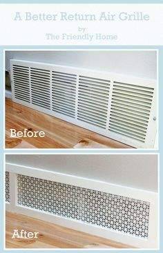 SOOO MANY TIPS...HOME DECOR...HOME Vent covers