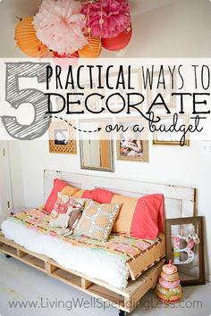 Creating a home you love doesn't have to cost a fortune.  Don't miss these five super practical tips from Ashley Ann Campbell for personalizing your home without breaking the bank.  #4 is sheer genius!