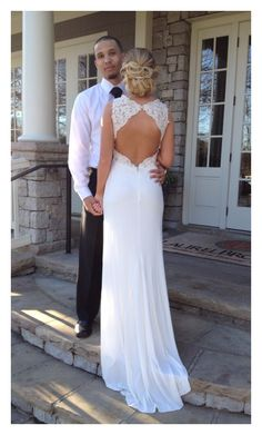 My daughters high school Cotillion dress from David's Bridal