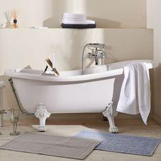 Cleopatra volně stojící vana, koupelna, vana, bytový design, inspirace / stylish bath Clawfoot Bathtub, Cleopatra, Bathroom, Washroom, Full Bath, Bath, Bathrooms