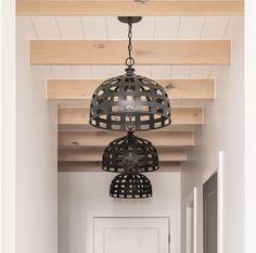 Hallway lighting @millhavenhomes #LightingDesign #lighting #lights #lightingideas #hallwaylighting #modernfarmhouse #homedecor #lightingdecor #homedecorideas #interiordesign