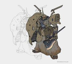 Game Character Design, Character Design Inspiration, Character Art, Robot Concept Art, Robot Art, Robot Picture, Rosario Vampire Anime, Manga, Warhammer Figures