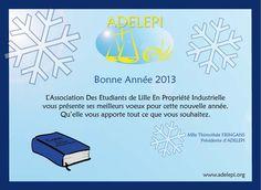 Vœux ADELEPI 2013  www.adelepi.org