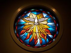 Holy Spirit Stained Glass | Explore jjgg77's photos on Flick ...