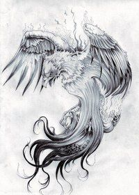 Phoenix Tattoos design for Men - Phoenix Tattoos Meanings. Check out the list of most beautiful Phoenix Tattoos ideas which you can have. Tattoo Dragon And Phoenix, Rising Phoenix Tattoo, Phoenix Bird Tattoos, Phoenix Tattoo Design, Phoenix Drawing, Phoenix Tattoo Sleeve, Phoenix Art, Dark Phoenix, Japanese Phoenix Tattoo