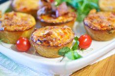 Pienet pekonipiiraset – Hellapoliisi Baked Potato, Food And Drink, Potatoes, Menu, Favorite Recipes, Salad, Snacks, Baking, Ethnic Recipes