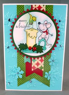 Merry Mouse Candle : Your Next Stamp