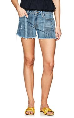 We Adore: The Liv Girlfriend Denim Shorts from Derek Lam 10 Crosby at Barneys New York