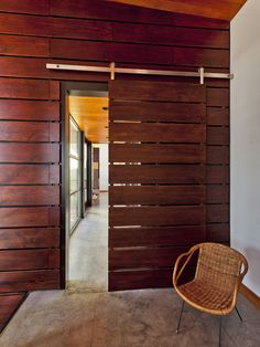 modern sliding barn door designs - Things You Ought To Know About Sliding Doors – Interior Design Home Door Design, Sliding Door Design, Barn Door Designs, Modern Sliding Doors, Sliding Barn Door Hardware, House Design, Window Hardware, Cabin Design, Life Design