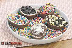Chocolate e...surpresa!, por Bruna Di Tullio. http://www.bemsimples.com/br/receitas/86432-chocolate-esurpresa