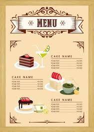 Hasil Gambar Untuk Desain Menu Makanan Desain Menu Makanan