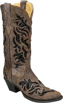 Corral Brown Foot And Shaft brown/black Boots