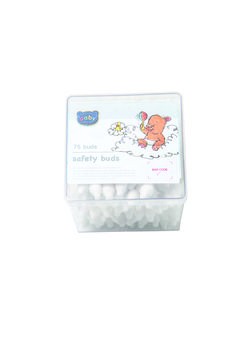 Keep baby's ears clean with soft and gentle safety ear buds. Remember not to push them too deep into your little one's ear canal.  Ackermans Baby Company safety ear buds. Available while stocks last.