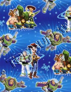 Licensed Disney●● TOY STORY CREW GIFT WRAP SHEETS x2 - 700mm x 495mm ●● FreePost