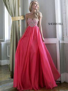 Strapless Sweetheart Sherri Hill Formal Prom Dress 3908