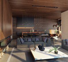 Contemporary Living Room Designs by Fedorova40