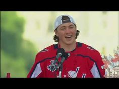 a8f386cc6 Washington Capitals  T.J. Oshie starts  back to back  chant at Stanley Cup  rally