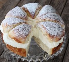 Swedish Cream Bun Cake Recipe Is A Taste Sensation