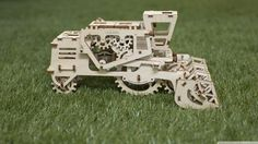This is the Combine Harvester 3D Puzzle from Ugears. You can find it at our website: http://www.kooqie.com/en/ugears-c%CE%BFmbine #Ugears #kooqie #cookie #combine #harvester #farming #puzzle #3dpuzzle
