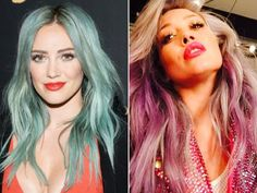 New Hair 2015: See Celebrity Hair Makeovers - Hilary Duff from #InStyle