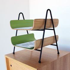 Wow, love these paper sorters. From http://onefortythree.com/home/