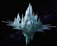 Paizo announces a new RPG: Starfinder Spaceship Art, Spaceship Design, Futuristic City, Futuristic Architecture, Sci Fi City, Space City, Fantasy City, Alien Art, Architecture Tattoo