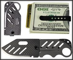 Scratch that last one being cool. Money clip with a knife hidden in it? Heck yea.