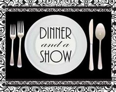 Image result for dinner theater clipart