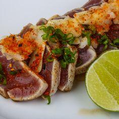 Seared Tuna Pepper Steaks