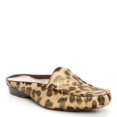 This everyday #mule #loafer is crafted to take you through the season. The relaxed construction on the LOVAGE offers a slipper like feel.  #Resort #Leopard #Shoes #DJPStyle