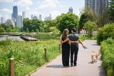 Who says that pets aren't family? So as you and your partner celebrate joining together within your engagement photos, don't forget to include the 3rd member of your family too!  Let's begin planning your photo session: http://www.mishamedia.com/  #engagement #chicagoweddingphotographer #chicagophotographer #engagementphoto #pets #photographer