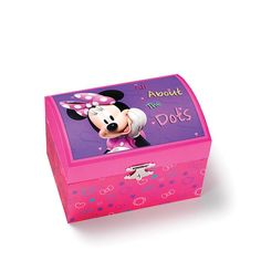 1000 images about disney 39 s mickey mouse clubhouse on for Minnie mouse jewelry box