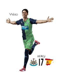 Ayoze Perez #17 Newcastle United