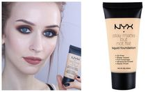 NYX STAY MATTE BUT NOT FLAT FOUNDATION   Review & Demo   Pale, Dry Skin