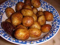 Cozinha com Graça: Batatas assadas na panela de pressão