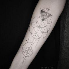 Sacred geometry tattoos                                                                                                                                                     More