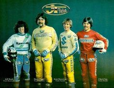 JT Ad - races in all different shapes and sizes. Dirt Bike Racing, Motorcycle Racers, Moto Bike, Motorcycle Outfit, Motocross Action, Motocross Bikes, Vintage Motocross, Bmx, Ktm 250 Exc