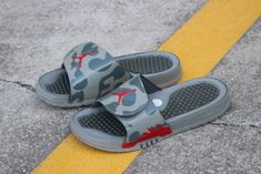 2bbe80fb4ef Discount Air Jordan Hydro 5 Retro Slide Dark Stucco Red 555501-051 For Sale  - ishoesdesign