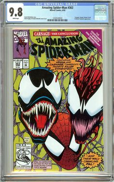 Amazing Spider-Man #363 (1992) CGC 9.8 White Pages 1233147010